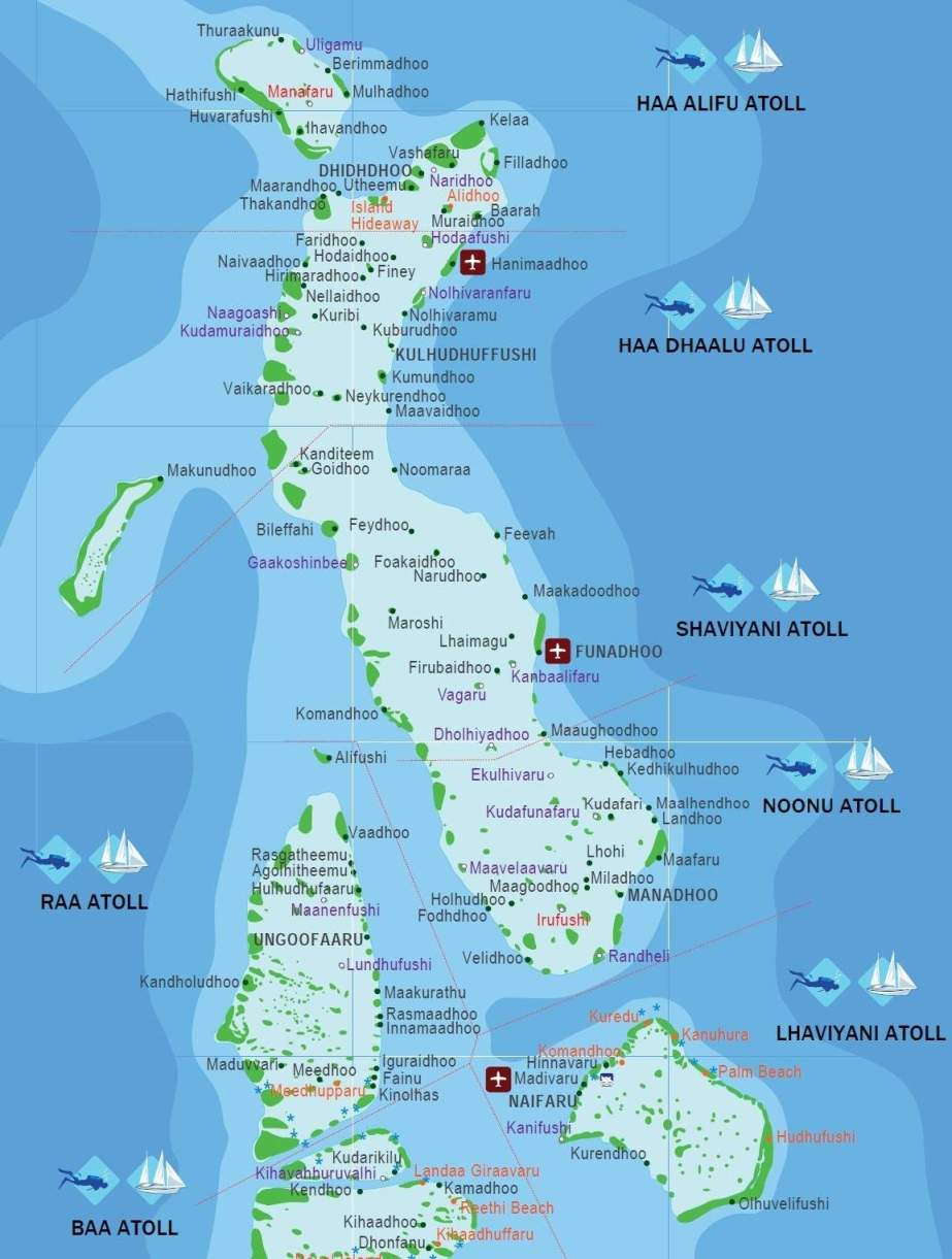 Map of the maldives maldives map maldives map maldives map world gumiabroncs Images