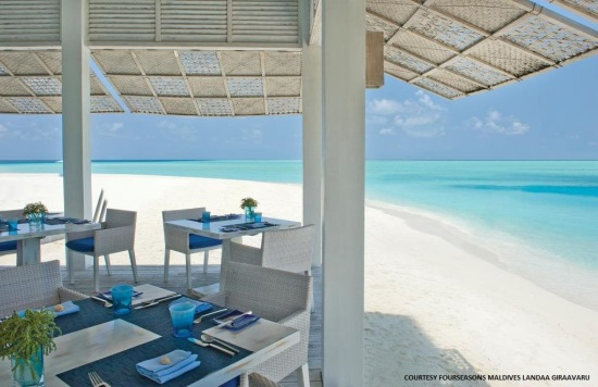 maldives dining