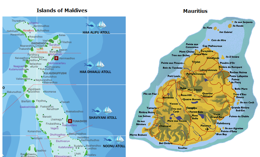 and Mauritius are not similar